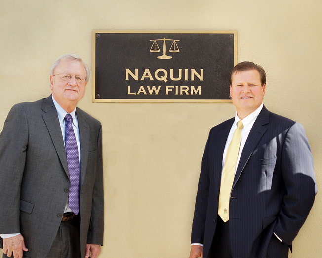 Naquin Law Firm Brad Naquin Walter Butch Naquin Personal Injury Law and Criminal Law Thibodaux Louisiana